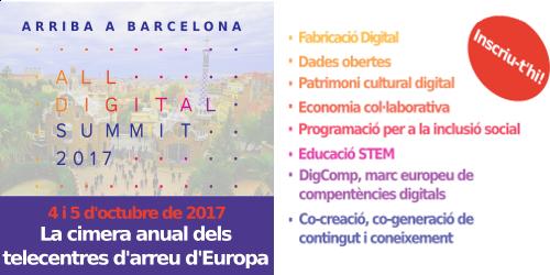 ALL DIGITAL Summit 2017 a Barcelona