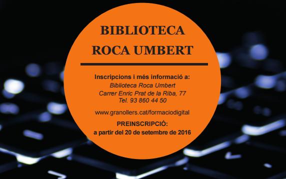 Formaci n digital septiembre diciembre a las bibliotecas for Formacion de la roca