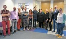 "Primera trobada de l'equip de ""The WELCOME Program"" a Bèlgica"