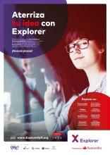 Cartell del programa Explorer, nou nom de Yuzz