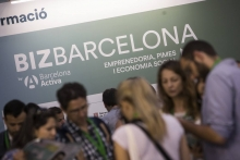 People participating in a previous edition of Bizbarcelona