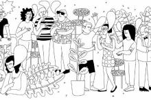 Il·lustració per difondre el taller 'Participació política a través d'Internet' de l'Ajuntament de Barcelona