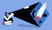 Il·lustració de Cinta Arribas per a Agència SINC