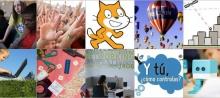 Imatge que representa els 10 cursos del primer cicle formatiu 2017 de l'Academia de Telecentros