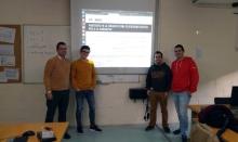 Alumnes de l'IES Carles Vallbona