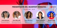 Acte presentació del Manifest DonaTIC