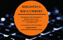 Digital trainig in Biblioteca Roca Umbert of Granollers
