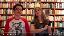 "Special chapter for Sant Jordi 2016 with Marta Botet and Bernat (from ""Perduts entre llibres"")"