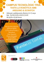 Technology Campus Tria: Try the Robotics with Arduino&Scratch