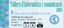 Taller d'informàtica i comunicació 2016 a e-Tremp