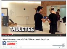 Servei d'assessorament TIC a les Biblioteques de Barcelona