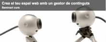 """Seminar """"Web tools: the content manager"""""""