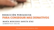 Meetup NetSquared Barcelona: Redacció persuasiva per aconseguir més donatius