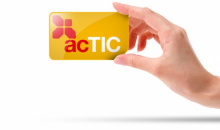 Image of the ACTIC card