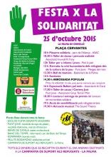 Festa x la solidaritat