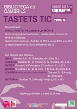 Cartell dels tastets TIC