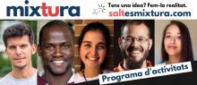 """Programa d'activitats de """"Mixtura, la nova comunitat de innovació social a Salt"""