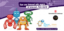 Cartell d'Internet Segura pel Dia de la Internet Segura 2019