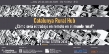 ornada RURAL CITIZEN 2030 - CATALUNYA