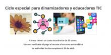 Ciclo formativo para dinamizadores y educadores TIC