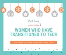Xerrada 'Dones que han fet la transició cap el món tecnològic' de CodeOp