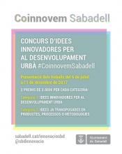 Lliurament de premis del concurs #CoinnovemSabadell
