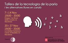 Tallers de la tecnologia de la parla de Col·lectivaT