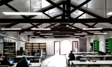 Coworking space in BDN Lab, Badalona