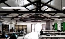 Foto de l'espai de working de BDN Lab, a Badalona
