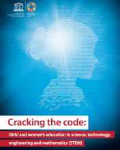 "Portada del informe ""Cracking the Code"" de la UNESCO"