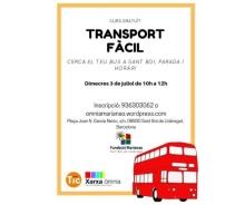 """Imatge del curs gratuït """"Transport fàcil"""" de l'Òmnia Marianao"""