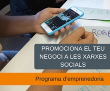Entrepreneurship itinerary: Promote your business on social networks