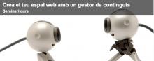 """Seminari """"Eines web: El gestor de continguts"""""""