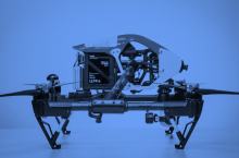 curs de pilot avançat de drons