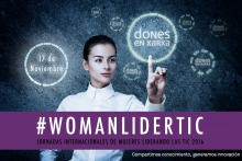 #WomanLiderTIC 2016