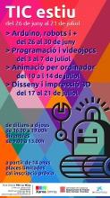 Talleres de verano en el Òmnia PES La Mina