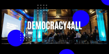 Imatge del Congrès Democracy4all: Blockchain For Governance 2020