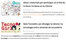 Dues notícies sobre dones i TIC al portal web de Punt TIC