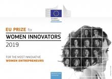 Premi de la Unió Europea (UE) per a dones innovadores 2019