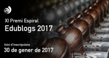On January 30, opens the periode to participate in the Award Espiral Edublogs 2017