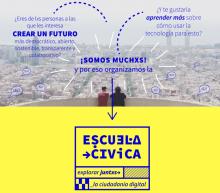 Cartell de l'Escuela Cívica