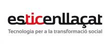 Logo #esTICenllaçat
