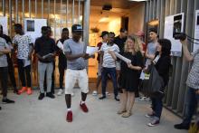 """Acte de lliurament de premis de la exposició """"MIRADES"""" de la Fundació Servei Solidari el 14 de juny de 2019"""