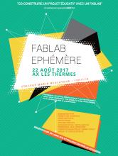 Cartel de Fablab Ephémère