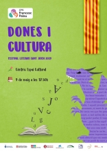 Festival literari Dones i Cultura a l'Òmnia CPS Francesc Palau