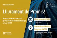Acte de lliurament de premis de la Final de la 9a edició de l'SmartCatalonia Challenge