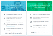 10,000 scholarships for learning how to program with Android
