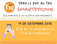 """""""Treu-li suc al teu smartphone"""" al Punt TIC Lliçà de Vall"""