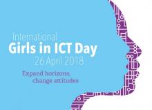 Logotip del Dia Internacional de les Nenes en les TIC 2018