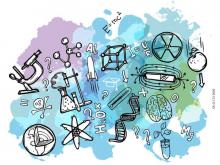 Cartell de les activitats de Girona Emprèn pel 11 de febrer, Dia de la Dona i la Nena a la Ciència